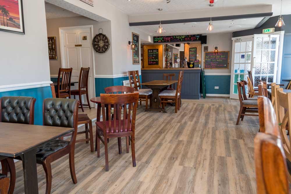 Bar at The Masons Arms Amble