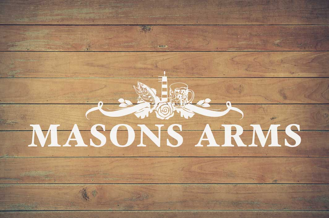 The Masons Arms in Amble, Northumberland.
